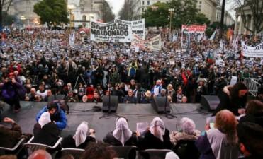 ARGENTINA: EL PAIS Y EL MUNDO SE PREGUNTAN DONDE ESTA SANTIAGO MALDONADO