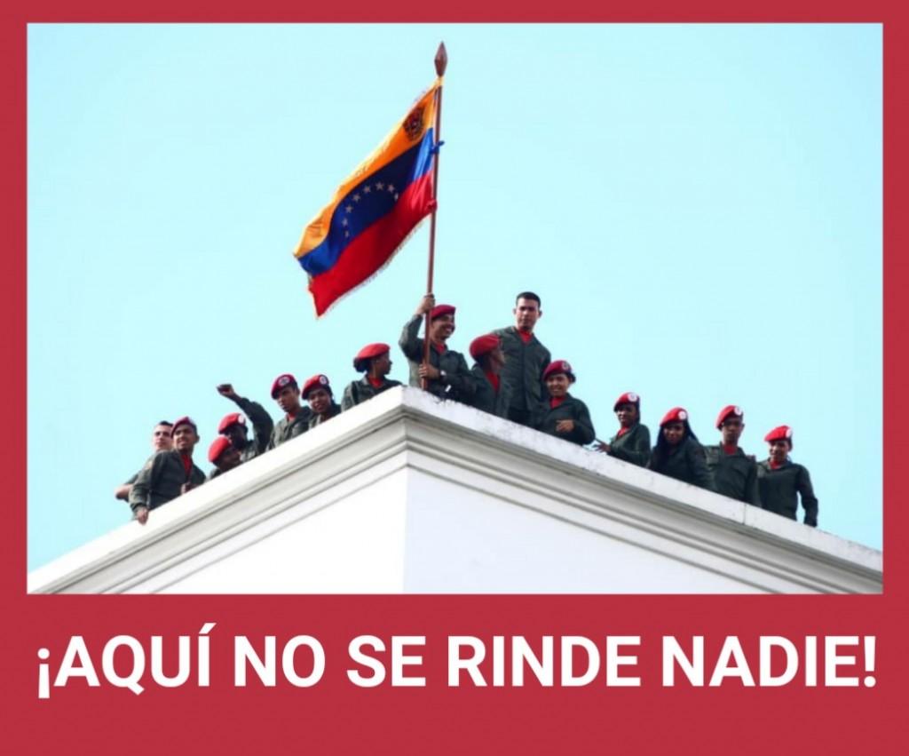 VENEZUELA: SE ROMPE POSIBLE GOLPE DE ESTADO, MADURO SIGUE