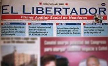 HONDURAS : NUEVAMENTE SE ATENTA A LA LIBERTAD DE EXPRESION