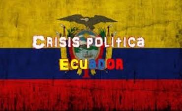 ECUADOR:CRISIS POLÍTICA DESDE LA LLEGADA DE LENIN MORENO