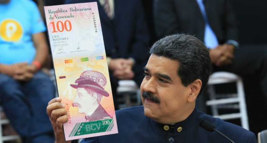 VENEZUELA: CAMBIO SU MONEDA DESAFIANDO AL DOLAR