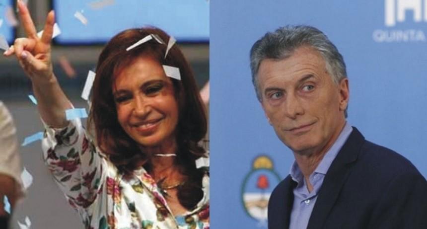 ARGENTINA: ANTE LA CRISIS MACRISTA, CRISTINA CRECE EN LAS ENCUESTAS